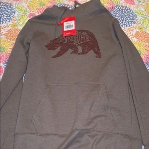 NWT SMALL MENS NORTH FACE HOODIE